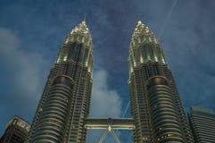 Petronas-Türme Stockfoto