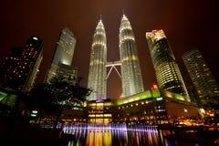 Petronas-Türme Lizenzfreies Stockfoto