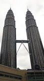 Petronas-Türme und Suria KLCC, Kuala Lumpur Lizenzfreie Stockfotografie