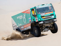 Petronas team in Dakar 2013 Royalty Free Stock Photography
