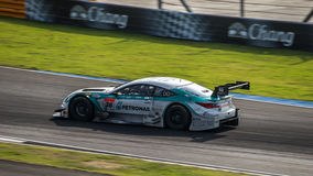 PETRONAS TOM'S RC F of LEXUS TEAM PETRONAS TOM'S in GT500 Ra Royalty Free Stock Photos