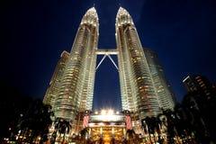 Petronas torn Arkivbild