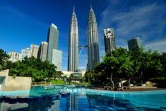 Petronas torn Royaltyfri Foto