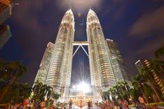 Petronas torn Arkivfoto