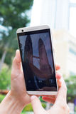 Petronas torn Fotografering för Bildbyråer