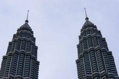 petronas torn kopplar samman Royaltyfria Foton