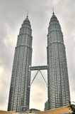 petronas torn kopplar samman Royaltyfri Fotografi