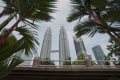 Petronas torn, Kuala Lumpur. Royaltyfri Bild