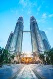Petronas torn, Kuala Lumpur - Malaysia Arkivbilder