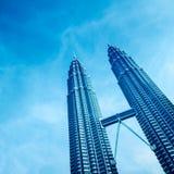 Petronas torn, Kuala Lumpur - Malaysia Royaltyfria Foton