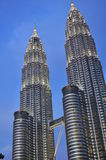 Petronas torreggia su â Kuala Lumpur, Malesia Fotografia Stock Libera da Diritti