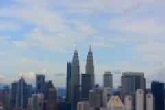 Petronas torreggia su Kuala Lumpur Fotografia Stock