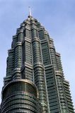Petronas Tower – Kuala Lumpur. This image was shot in Malaysia's capital, Kuala Lumpur and shows one of the Petronas Towers Stock Image