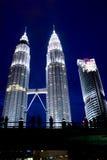 Petronas tower. Beauty building petronas tower at malaysia Stock Image