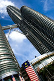 Petronas tower Royalty Free Stock Photography