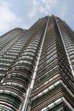 Petronas Tower. At Kuala Lumpur, Malaysia. Also called KLCC Stock Photos