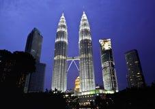 Petronas tower Royalty Free Stock Photos