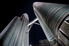 Petronas tower Royalty Free Stock Photos