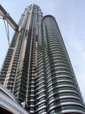 petronas tower Royaltyfria Bilder