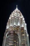 Petronas Tower In Kuala Lumpur, Malaysia Royalty Free Stock Photography