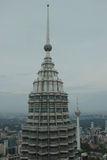 Petronas Tower and KL Tower Stock Photos