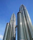 Petronas tower in Kuala Lumpur Stock Images
