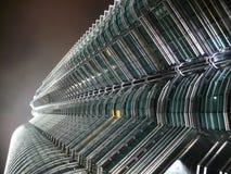 Petronas Tower Kuala Lumpur. Looking up at the Petronas Tower Kuala Lumpur Stock Photo