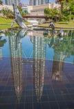 The Petronas Tower Kuala Lumpur, Malaysia stock image