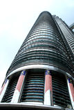 Petronas tower, Kualalumpur. One of the two Petronas towers Stock Images