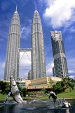 Petronas Towers – Kuala Lumpur, Malaysia. This image was shot in Malaysia's capital, Kuala Lumpur and shows the Petronas Towers. The image was shot with a Stock Photography