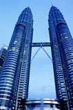 Petronas Towers – Kuala Lumpur, Malaysia. This image was shot in Malaysia's capital, Kuala Lumpur and shows the Petronas Towers. The image was shot with a Stock Images