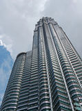 Petronas towers. Tallest building in the world royalty free stock photography