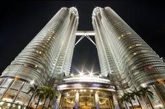 Petronas Towers. Kuala Lumpur, Malaysia Stock Images