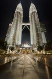 Petronas Towers. Kuala Lumpur, Malaysia Stock Photos