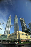 The Petronas Towers Stock Photo