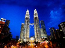 Petronas Towers Stock Photo
