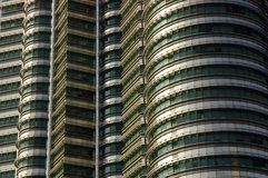 Petronas Towers Details Royalty Free Stock Photo