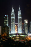 The Petronas Towers Stock Image