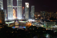 The Petronas Towers Stock Photos