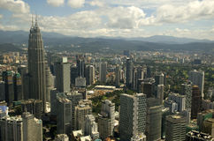 Petronas Towers, Kuala Lumpur, Malaysia Stock Photography