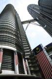 Petronas towers kuala lumpur malaysia Royalty Free Stock Photography