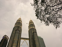 Petronas Towers in Kuala Lumpur, Malaysia Stock Photography
