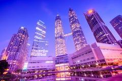 Petronas Towers, Kuala Lumpur - Malaysia Royalty Free Stock Photography