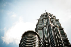 The Petronas Towers in Kuala Lumpur, Malaysia Stock Images
