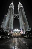 The Petronas Towers in Kuala Lumpur, Malaysia Stock Photography