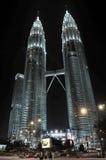 The Petronas Towers in Kuala Lumpur, Malaysia Stock Image