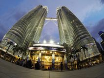 Petronas Towers Kuala Lumpur Royalty Free Stock Photography