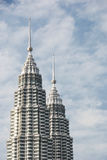Petronas Towers, Malaysia Royalty Free Stock Photos
