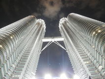 Petronas towers. Picture of Petronas towers in Kuala Lumpur Stock Image
