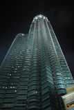 Petronas Towers(side) Stock Photos